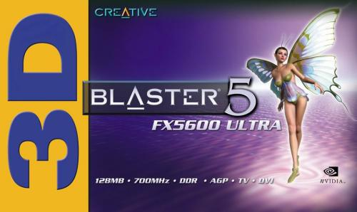 Creative 3D Blaster 5 GeForce FX5600 Ultra Box