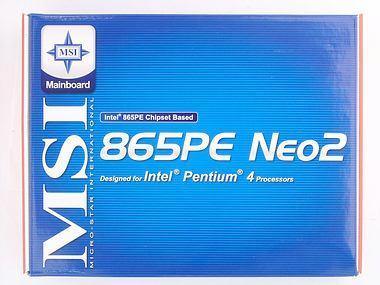 MSI 865PE Neo2 Box