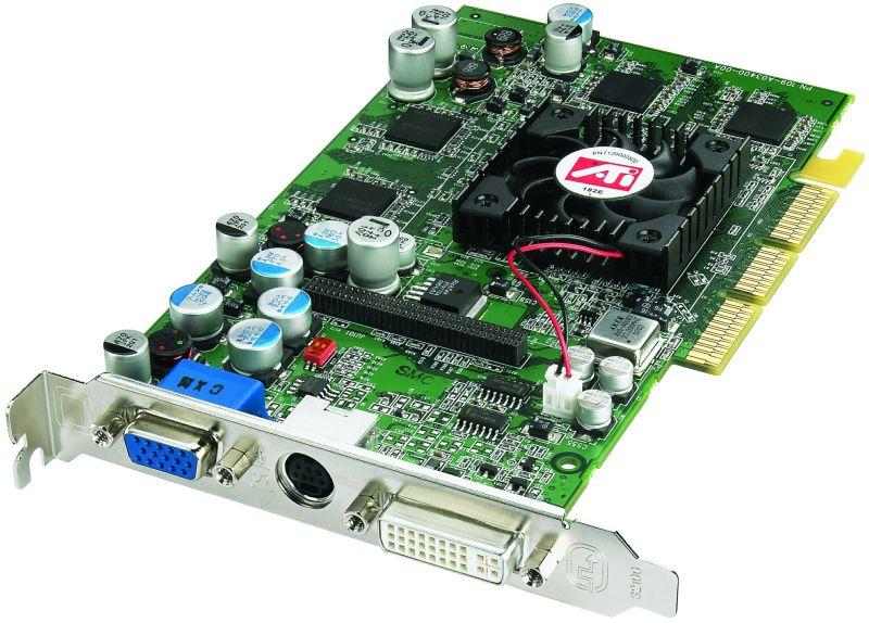 ATI Radeon 9600 Pro Grafikkarte