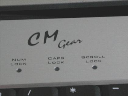 Cooler Master Aluminium-Tastatur