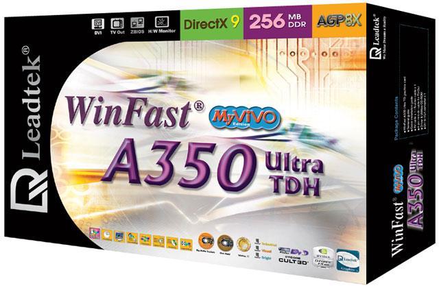 Leadtek WinFast A350 TDH Ultra MyVIVO Box