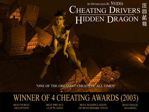 Cheating Driver, Hidden Dragon