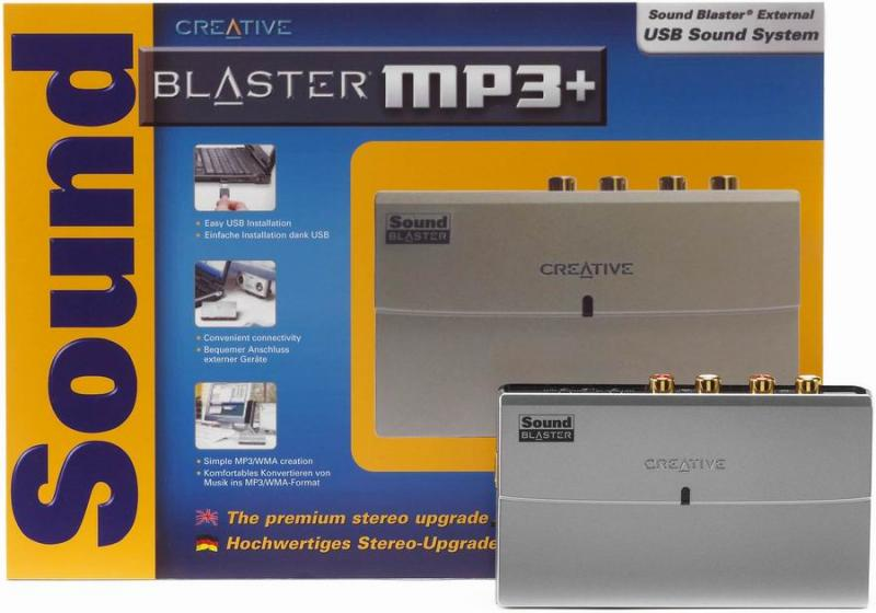 Creative Sound Blaster MP3+