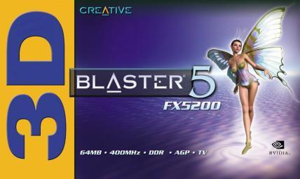 3D Blaster 5 FX5200