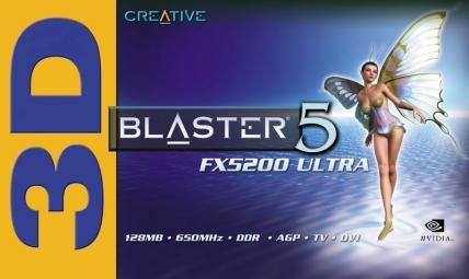 3D Blaster 5 FX5200 Ultra