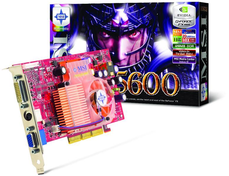 MSI FX5600-VTDR128