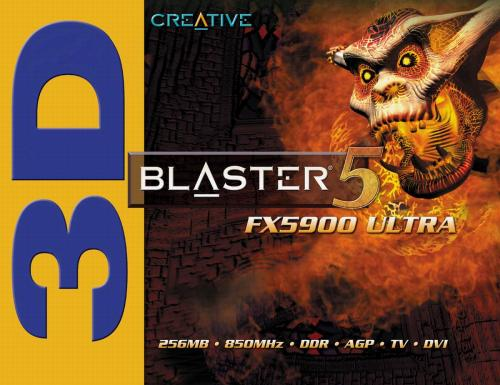 Creative 3D Blaster 5 FX 5900 Ultra Box