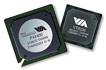 VIA P4X400 Chipsatz