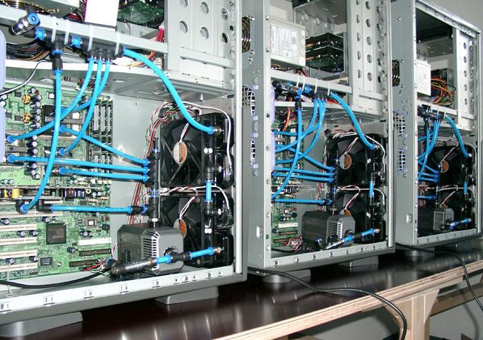 Wassergekühlte Workstations