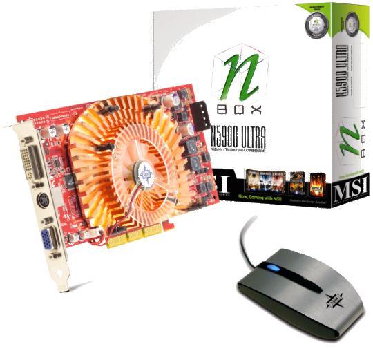 MSI NBox FX5900 Ultra plus N-Mouse