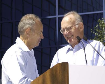 Andy Grove und Gordon Moore