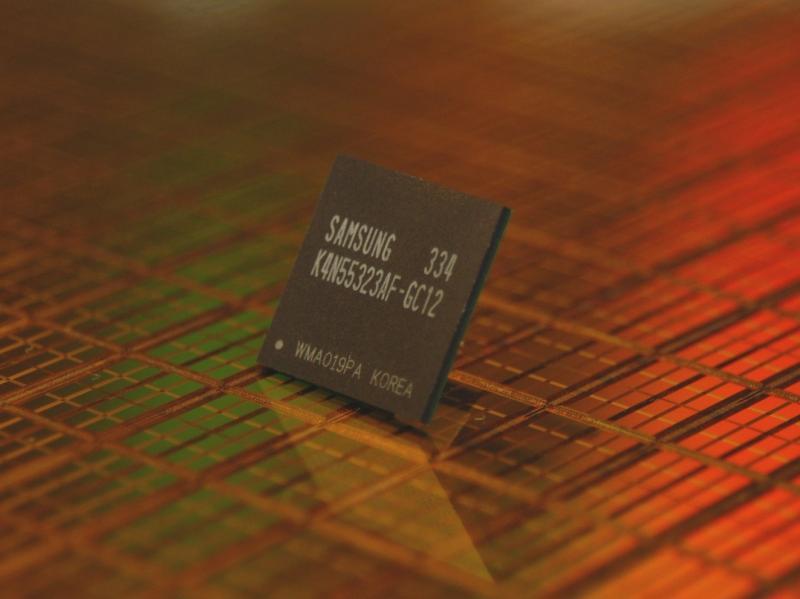 Samsung 256Mbit GDDR2 SDRAM Baustein