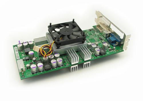 MSI GeForce FX5800 Ultra mit MRC FX Pro Kühler
