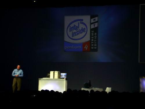 Pentium 4 Extreme Edition Präsentation