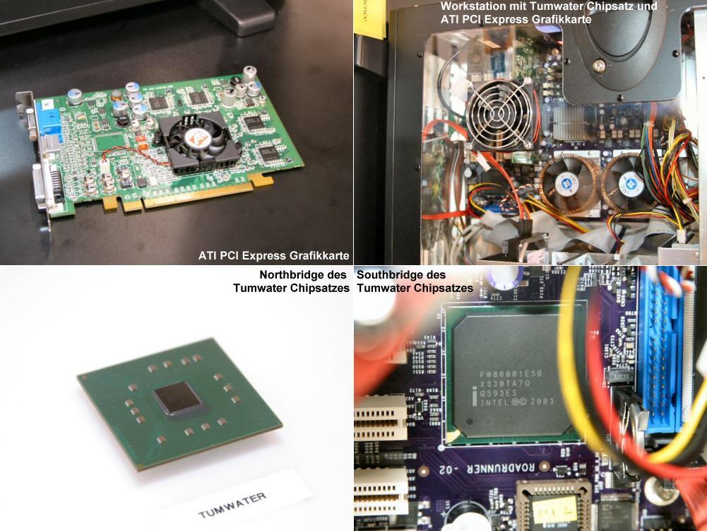 PCI Express System und Komponenten auf dem Intel Developer Forum