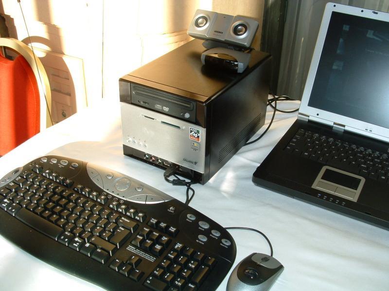 Shuttle XPC mit Athlon 64 CPU