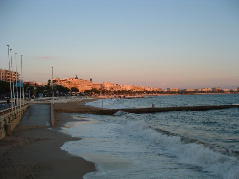 Küste von Cannes