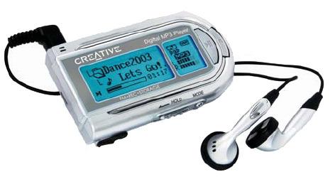 Creative Labs Rhomba MP3/WMA-Player