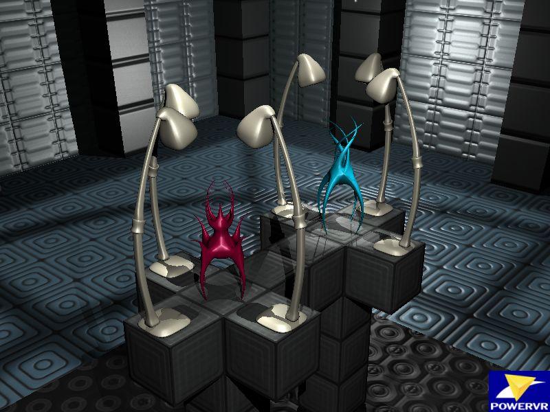 PowerVR Deferred Shading Demo