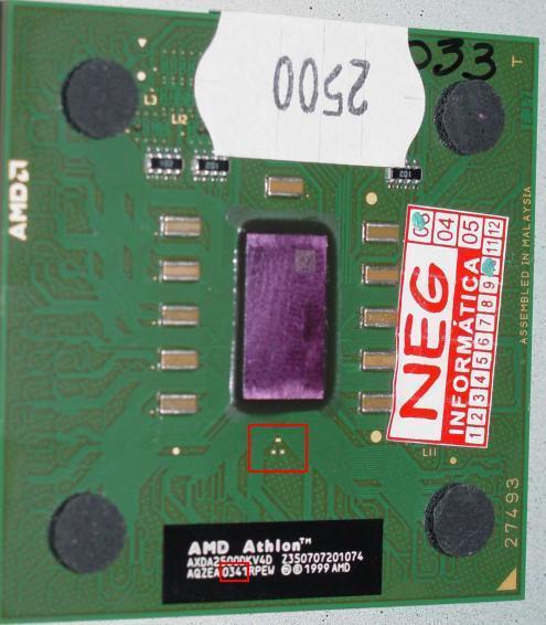 AMD Athlon XP 2500+ gelockt (KW41)