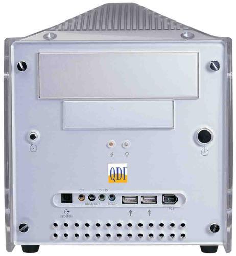 Mini-PC Barebone von Legend QDI
