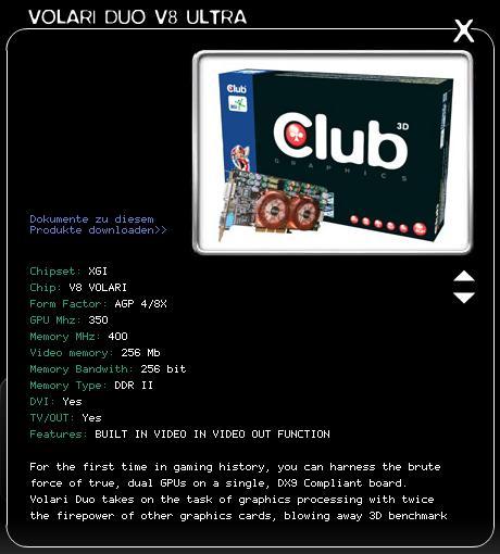 Club-3D Volari Duo V8 Ultra