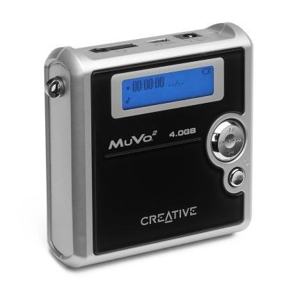 Creative MuVo² mit 4 GB MicroDrive