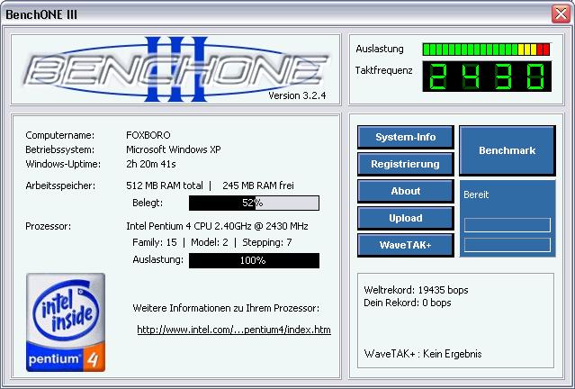 BenchONE III