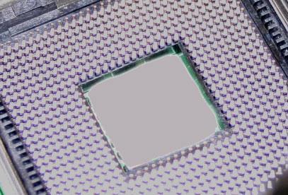 LGA-775 Sockel (Mitte ausgeblendet)