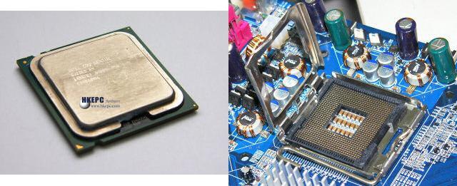 Intel LGA775 CPU und Sockel