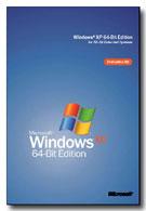 Geplante Verpackung der Windows XP 64bit Edition