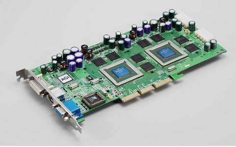 XGI Volari Duo V8 Ultra Referenzkarte
