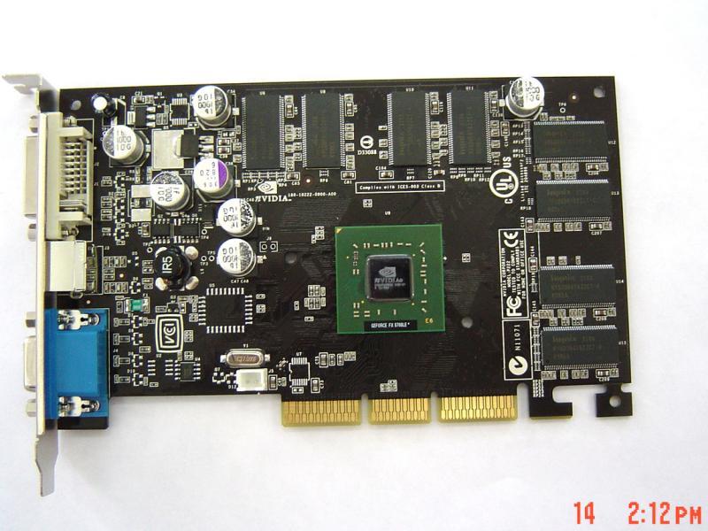 GeForce FX5700LE ohne Kühler