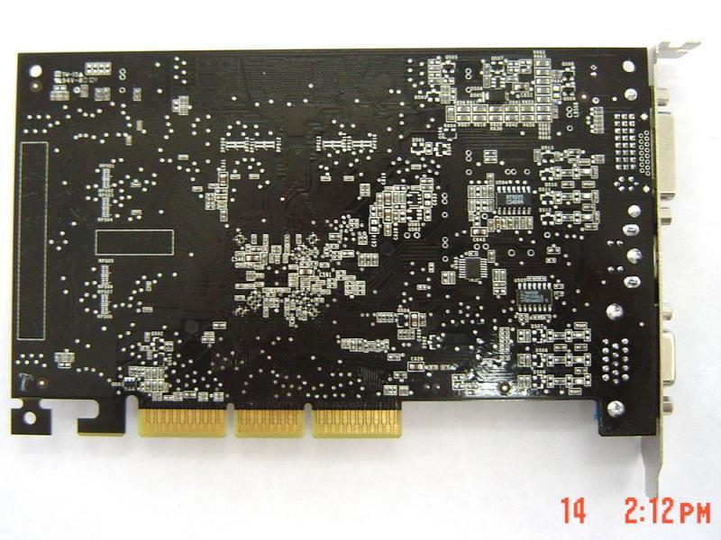 GeForce FX5700LE Rückseite