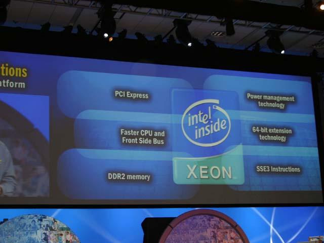 Präsentation des neuen, 64bit-fähigen Xeon