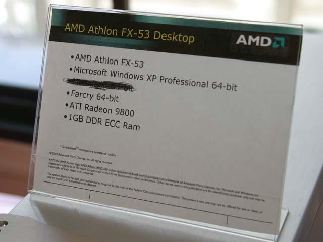 Infos zum AMD Athlon 64 FX-53 System