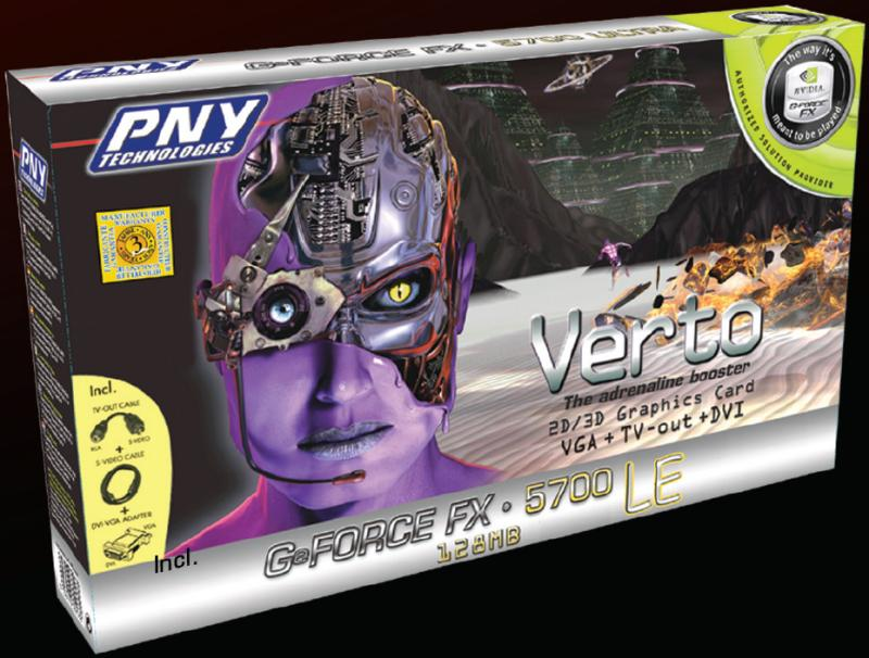 PNY Verto GeForce FX5700LE