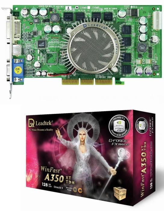 GeForce FX5900XT von Leadtek