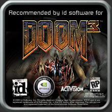 Doom 3 Sticker