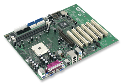 nForce3 250 Referenz-Mainboard
