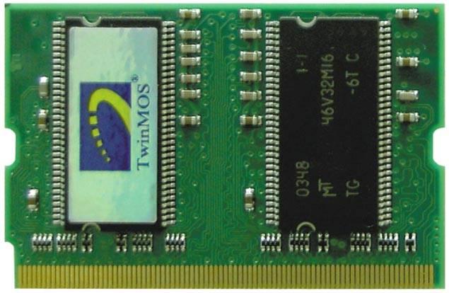 DDR333 256M Micro SO-DIMM von TwinMOS