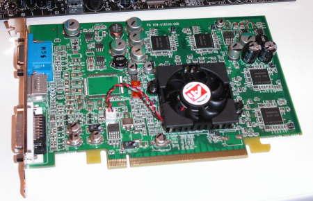 ATI RV380 Referenzkarte für PCI-Express
