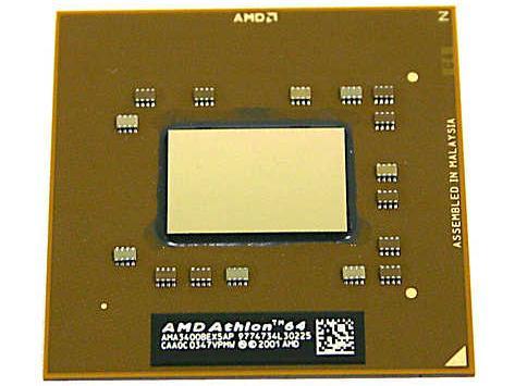 AMD Athlon 64 3400+ DTR (Desktop Replacement)