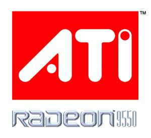ATI Radoen 9550 Logo