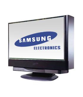 Samsung Rückprojektionsmonitor