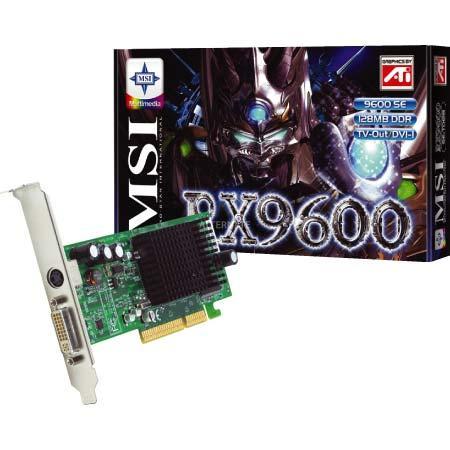 MSI RX9600SE-TD128