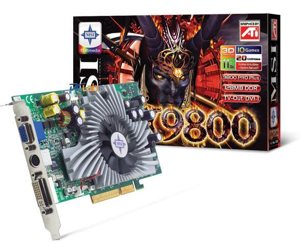 MSI RX9800Pro Plus-TD128