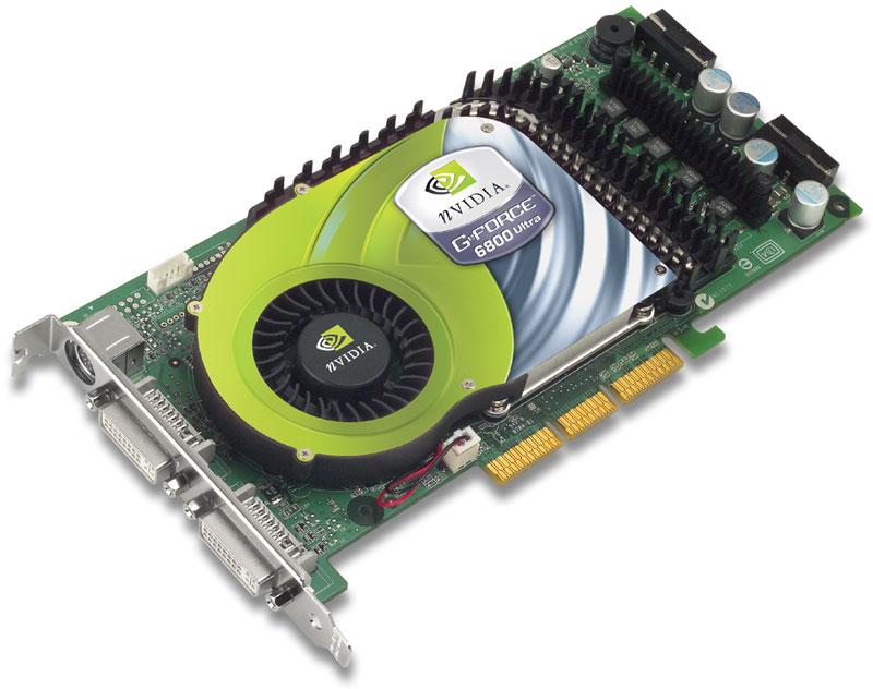 nVidia GeForce 6800 Ultra Referenz-Grafikkarte