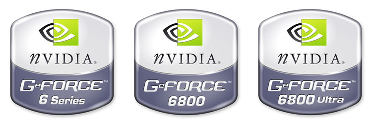 nVidia GeForce 6 Logos