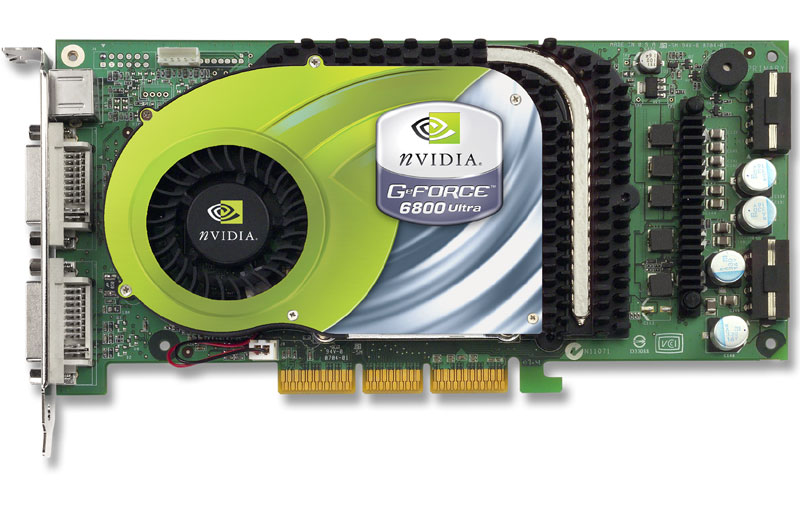 GeForce 6800 Ultra Front